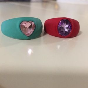 3/$13 Just Bundle Two acrylic rings